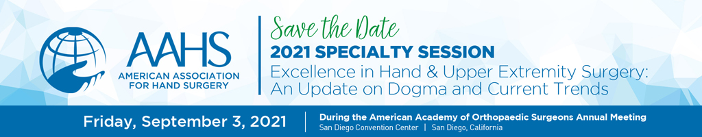 AAHS Specialty Day Program During the AAOS Annual Meeting
