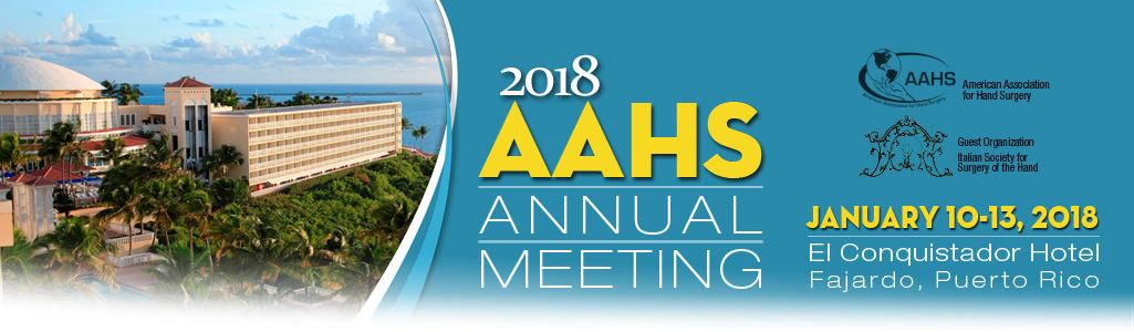 2018 AAHS Annual Meeting