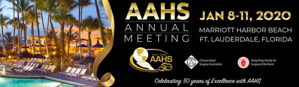 2020 AAHS Annual Meeting